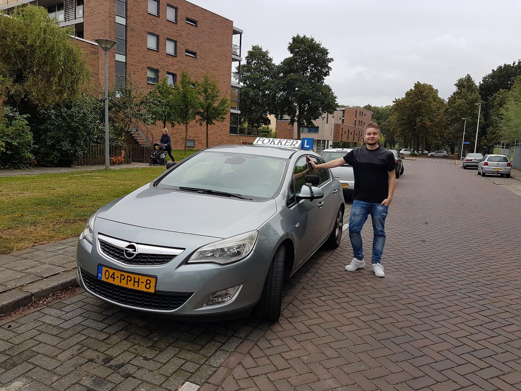 Geslaagd Thijs Bergervoet